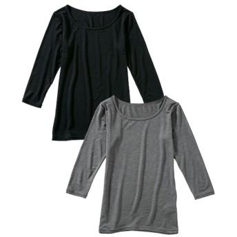 ウォームコア長袖インナー2枚組(男の子。女の子 子供服。ジュニア服) キッズ下着