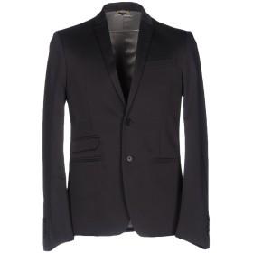 《セール開催中》PATRIZIA PEPE メンズ テーラードジャケット スチールグレー 46 コットン 96% / ポリウレタン 4%