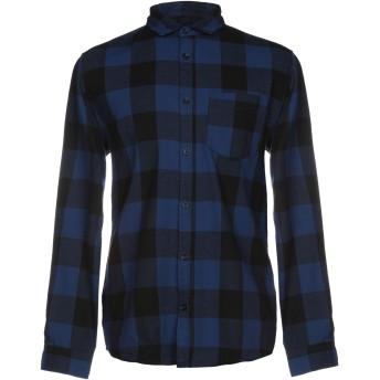 《セール開催中》JACK & JONES ORIGINALS メンズ シャツ ブルー M コットン 60% / ポリエステル 40%