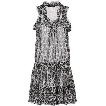 《セール開催中》MANGANO レディース ミニワンピース&ドレス ライトグレー S/M ポリエステル 100%