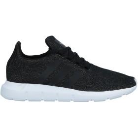 《セール開催中》ADIDAS ORIGINALS レディース スニーカー&テニスシューズ(ローカット) ブラック 6.5 紡績繊維