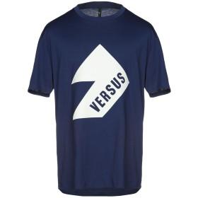 《セール開催中》VERSUS VERSACE メンズ T シャツ ブルー XS 100% コットン