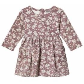 ドレス カジュアルドレス キッズ 女の子【Wheat Viola Plum Dress】