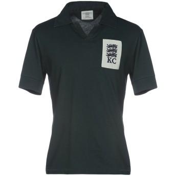 《9/20まで! 限定セール開催中》KENT & CURWEN メンズ ポロシャツ グリーン XS コットン 100%