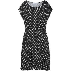 《セール開催中》ANNA RACHELE レディース ミニワンピース&ドレス ブラック 48 レーヨン 93% / ポリウレタン 7%