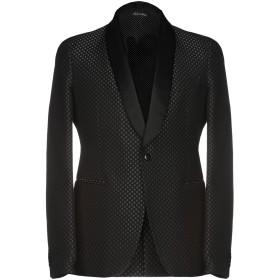 《セール開催中》BRIAN DALES メンズ テーラードジャケット ブラック 48 85% ウール 15% シルク