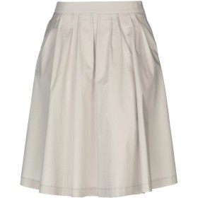 《セール開催中》PESERICO レディース ひざ丈スカート ベージュ 42 97% コットン 3% ポリウレタン