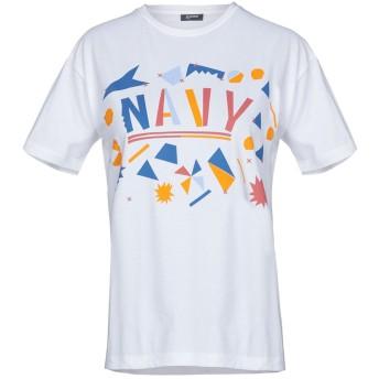 《期間限定セール開催中!》JIL SANDER NAVY レディース T シャツ ホワイト M 100% コットン