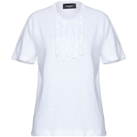 《期間限定セール開催中!》DSQUARED2 レディース T シャツ ホワイト XS コットン 100%