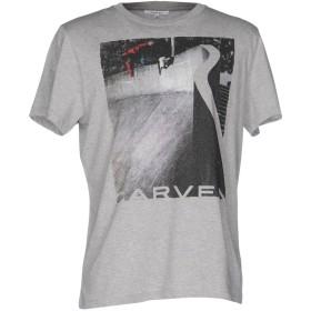 《セール開催中》CARVEN メンズ T シャツ グレー S コットン 100%