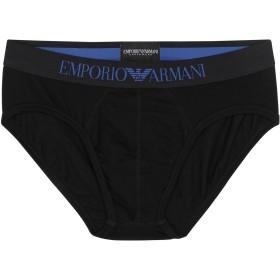 《セール開催中》EMPORIO ARMANI メンズ ショーツ&ブリーフ ブラック S コットン 95% / ポリウレタン 5% BRIEF
