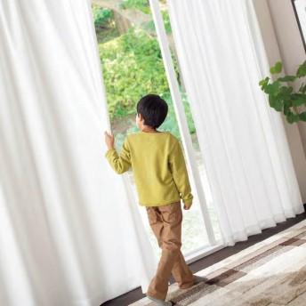 【トップバリュ】 遮熱レースカーテン「TV-EL」 アイボリー 幅100x丈228cm