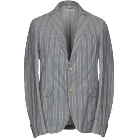 《期間限定セール開催中!》HAMAKI-HO メンズ テーラードジャケット グレー 44 100% コットン