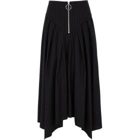 《セール開催中》GALLE Paris レディース ロングスカート ブラック 40 コットン 40% / ポリエステル 25% / ウール 20% / アクリル 10% / 指定外繊維 5%