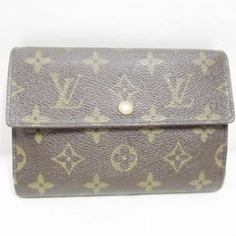 ルイヴィトン Louis Vuitton モノグラム エテュイパピエ M61202 財布 2つ折り レディース【中古】