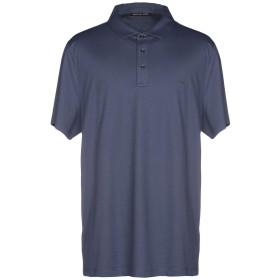 《期間限定セール開催中!》MICHAEL KORS MENS メンズ ポロシャツ ブルーグレー S コットン 100%