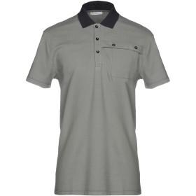 《セール開催中》VERSACE COLLECTION メンズ ポロシャツ グレー S 100% コットン