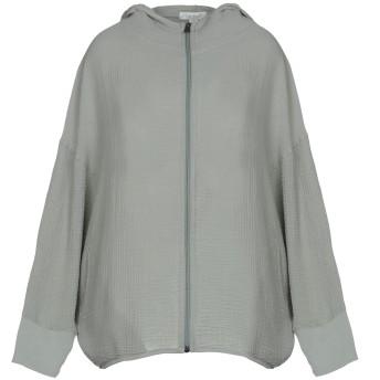 《期間限定セール開催中!》CROSSLEY レディース スウェットシャツ ライトグリーン XS コットン 100%