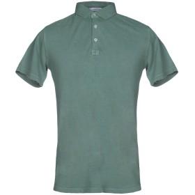 《送料無料》HAMAKI-HO メンズ ポロシャツ グリーン S 100% コットン