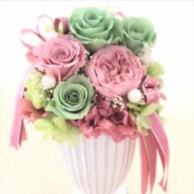 プリザーブドフラワー 花ギフト アレンジメント 母の日 結婚祝い 結婚記念日 誕生日 お祝い 新築祝い 開店祝い ブリザードフラワー 送料