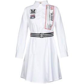 《セール開催中》MUST レディース ミニワンピース&ドレス ホワイト S ポリエステル 100%