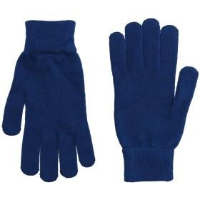 《送料無料》PS PAUL SMITH メンズ 手袋 ブルー one size 100% ウール