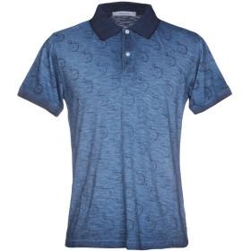 《送料無料》HAMAKI-HO メンズ ポロシャツ ブルー S コットン 100%