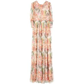 《セール開催中》PICCIONE. PICCIONE レディース ロングワンピース&ドレス ピンク 40 100% シルク