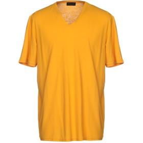 《期間限定セール中》ROBERTO COLLINA メンズ T シャツ オレンジ 50 コットン 100%