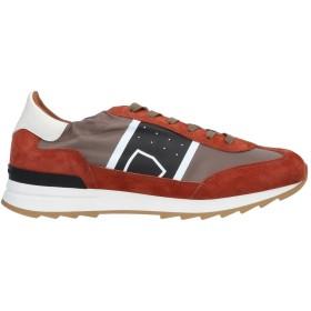 《セール開催中》PHILIPPE MODEL メンズ スニーカー&テニスシューズ(ローカット) 赤茶色 39 革 紡績繊維