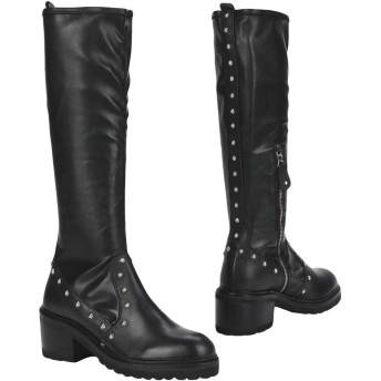 《セール開催中》HADEL レディース ブーツ ブラック 38 紡績繊維 100%