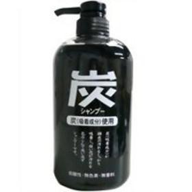 純薬 炭シャンプー ポンプ 600ml