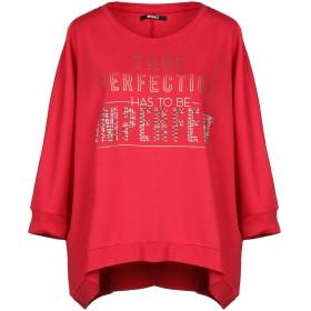 《セール開催中》!MERFECT レディース スウェットシャツ フューシャ 1 80% コットン 20% ポリエステル