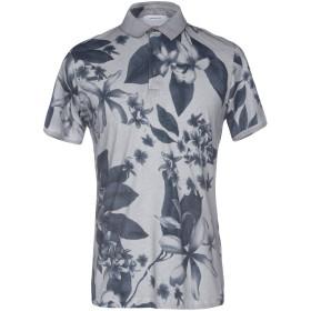 《送料無料》HAMAKI-HO メンズ ポロシャツ グレー S 100% コットン