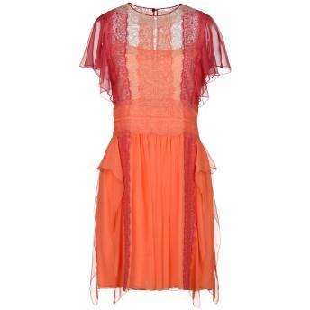 《期間限定 セール開催中》ALBERTA FERRETTI レディース ミニワンピース&ドレス オレンジ 44 アセテート 86% / シルク 9% / 指定外繊維 5%