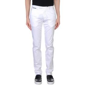 《期間限定セール開催中!》ELEVENTY メンズ パンツ ホワイト 29 コットン 97% / ポリウレタン 3%
