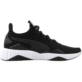 《期間限定 セール開催中》PUMA レディース スニーカー&テニスシューズ(ローカット) ブラック 3.5 紡績繊維 Defy Wn's