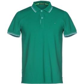 《期間限定セール開催中!》SHOCKLY メンズ ポロシャツ グリーン XS 95% コットン 5% ポリウレタン