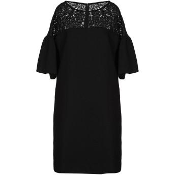 《セール開催中》GOAT レディース ミニワンピース&ドレス ブラック 6 ウール 100%
