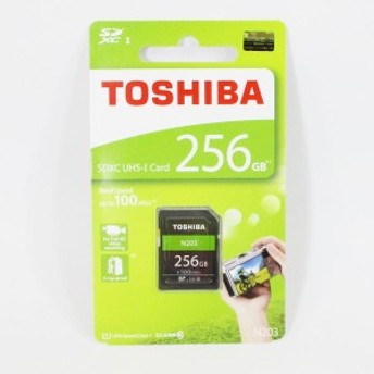 東芝 SDXCカード 256GB 超高速 Class10/SDカード