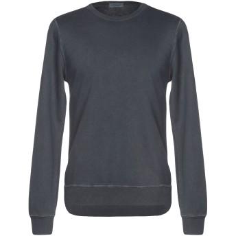 《期間限定セール開催中!》CROSSLEY メンズ スウェットシャツ ブルー XL コットン 100%