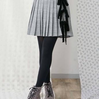[merry jenny]リボンチェックミニスカート