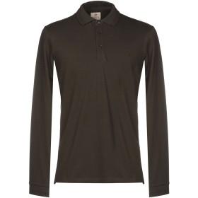 《期間限定 セール開催中》BAGUTTA メンズ ポロシャツ ダークグリーン S コットン 94% / ポリウレタン 6%
