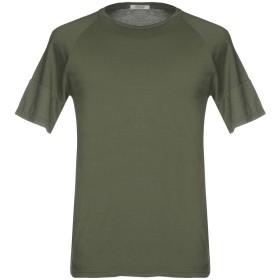 《セール開催中》CROSSLEY メンズ T シャツ ミリタリーグリーン L 100% コットン