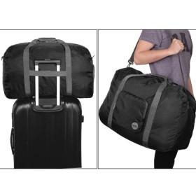 WANDF折りたたみボストンバッグ キャリーオンバッグ シューズ収納 旅行トラベルバッグ スポーツバッグ 超軽量 撥水ナイロントートバッグ
