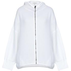 《期間限定セール開催中!》CROSSLEY レディース スウェットシャツ ホワイト XS コットン 100%