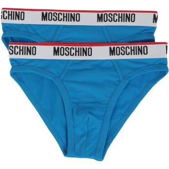 《9/20まで! 限定セール開催中》MOSCHINO メンズ ショーツ&ブリーフ アジュールブルー XS コットン 95% / ポリウレタン 5%
