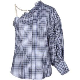 《期間限定 セール開催中》FACETASM レディース シャツ ブルー 3 100% コットン