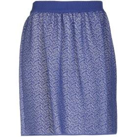 《期間限定セール開催中!》BLUGIRL BLUMARINE レディース ミニスカート ブルー 46 88% コットン 12% ナイロン