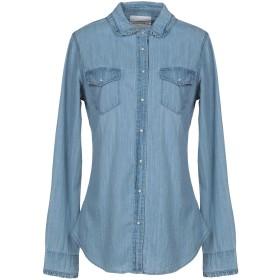 《期間限定 セール開催中》SILVIAN HEACH レディース デニムシャツ ブルー XS 100% コットン